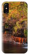 Autumn At Wolf Creek Falls IPhone Case