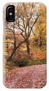 Autumn Azalea Garden IPhone Case