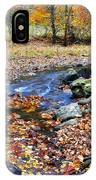 Autumn Birch River IPhone Case
