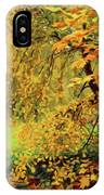 Autumn Bliss Of Color IPhone Case