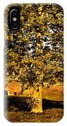 Autumn Boredom IPhone Case