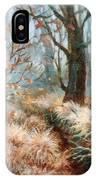 Autumn Brush IPhone Case