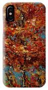 Autumn Burst IPhone Case