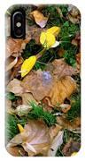Autumn Carpet 002 IPhone Case