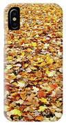 Autumn Carpet IPhone Case
