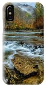 Autumn Cherry Falls Elk River IPhone Case