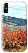 Autumn Cherry Orchard IPhone Case
