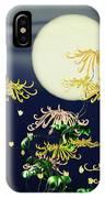 Autumn Chrysanthemums 4 IPhone X Case