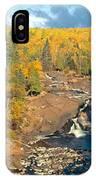 Autumn Color Along Beaver River IPhone Case