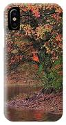 Autumn Colors By The Pond IPhone Case
