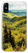 Autumn Colors In The Smokies IPhone Case