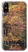 Autumn Colors Reflect IPhone Case