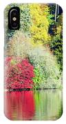 Autumn Colours By The Lake IPhone Case