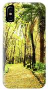 Autumn Corridor IPhone Case