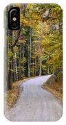 Autumn Country Road IPhone X Case