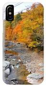 Autumn Creek 3 IPhone Case