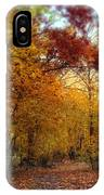 Autumn Crescendo IPhone Case