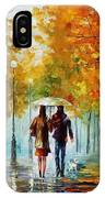Autumn Elegy IPhone Case