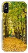 Autumn Entrance 2 IPhone Case