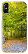 Autumn Entrance 3 IPhone Case
