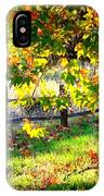 Autumn Fence IPhone Case