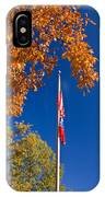 Autumn Flag IPhone Case