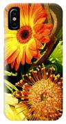 Autumn Flower Arrangement IPhone Case