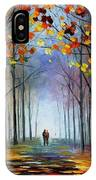 Autumn Fog IPhone Case