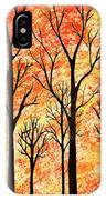 Autumn Forest Abstract  IPhone Case