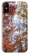 Autumn Forest Canopy IPhone Case
