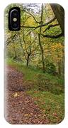 Autumn Forest Path - IPhone Case
