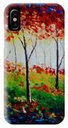 Autumn Glade IPhone Case
