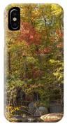 Autumn Glory - Unami Creek Sumneytown Pennsylvania Usa IPhone Case