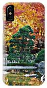 Autumn Glow In Manito Park IPhone Case