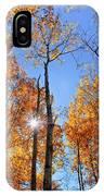 Autumn Gold Sunburst IPhone Case