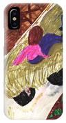 Autumn Hayride IPhone Case
