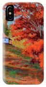 Autumn Hillside IPhone Case