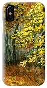 Autumn Hollow I IPhone Case