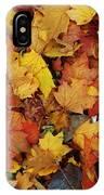 Autumn In Canada IPhone Case