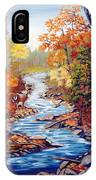 Autumn In Cunningham Park  IPhone Case