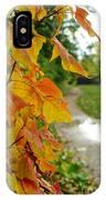 Autumn In Ellenberger IPhone Case