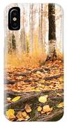 Autumn In Finland IPhone Case