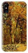 Autumn In Forest IPhone Case