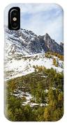 Autumn In French Alps - 18 IPhone Case