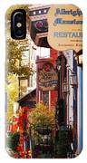 Autumn In Jim Thorpe IPhone Case