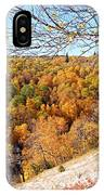 Autumn In Riding Mtn National Park IPhone Case