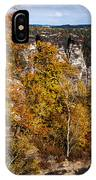 Autumn In Saxon Switzerland IPhone Case