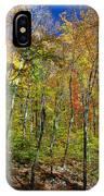 Autumn In Schooley's Mountain Park 2 IPhone Case