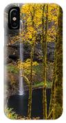 Autumn In Silver Falls IPhone Case