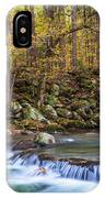 Autumn In Smoky Mountains National Park  IPhone Case